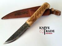 Condor Norse Dragon Knife + Leather Sheath CTK1021-3.8HC Hunting Bushcraft Camp