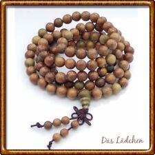 ❤️  Mala 108 Perlen * Gebetskette * Buddha * Armband * Sandelholz edel * ❤️ A1