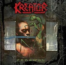 Kreator - Renewal GREEN COLOURED Vinyl LP IN STOCK NEW/SEALED