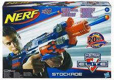Nerf N-strike Elite Stockade Blaster Gun +10x Darts Indoor / Outdoor Toy - NEW