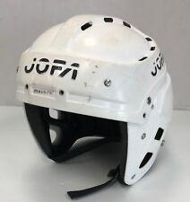 "Vintage Rare Jofa 395 Ice Hockey Helmet size Junior 6 1/2"" - 7 1/4"" White jr vtg"