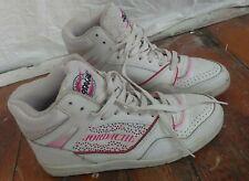 Vintage Jordache Tennis Shoes Sneakers Womens Size 8 White Pink