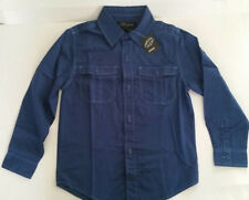 Boys Long Sleeved - French Blue - Shirt..   Size 7