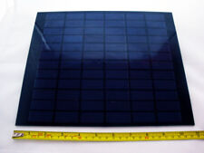 Small Solar Panel 6.4W, 18V, 355mA Rigid Glass Panel - 280x230x2.5mm