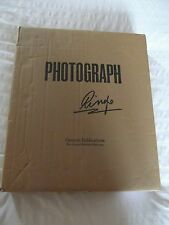 RINGO STARR Photograph SIGNED DELUXE Genesis Publications NEW IN UNOPENED BOX!!