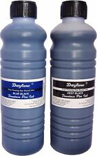 Fountain pen ink Combo blue black  & Deep Black colour 500 ml  each