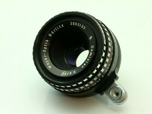 Meyer Optik Gorlitz Domiplan 50mm 2.8 Camera Lens Exakta Mount. Working. 3663103