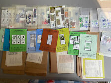 Israel Vintage Stamp Collection Philatelic Services Mostly Unused Maccabiah etc