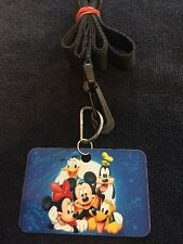 Disney Pin Trading Lanyard- Beginners Badge With Direction- Cool!!!