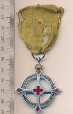 BULGARIA QUEEN ELEONORE CROSS 1912 1913 ROYAL order Bulgarian MEDAL Silver 900