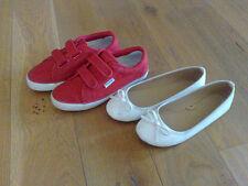 scarpe superga classic velcro  + ballerine bianco 34