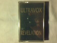 ULTRAVOX Revelation mc cassette k7 ITALY RARA SIGILLATA SEALED!!!