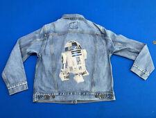Levi's Women's R2-D2 Ex Boyfriend Denim Trucker Jacket Star Wars SZ S New!!!