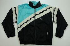 Rare Vintage SERGIO TACCHINI Spell Out Color Block Windbreaker Jacket 90s SZ 46