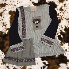 Ian Mosh Decade 1989 Patchwork Quilt Doll Shirt Size 4