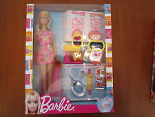 Barbie Doll Baking Time Kitchen Accessories Mixer Cookies Plates Silverware Pan