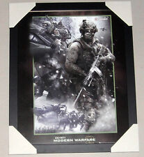 CALL OF DUTY MODERN WARFARE 2 MINI framed POSTER Ready to Hang