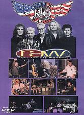 REO Speedwagon - Real Artists Working (DVD, 2002) Still Sealed