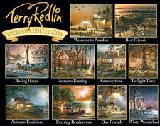 Jigsaw puzzle Multipack 10 assorted Americana Landscape Scenes NEW Made USA