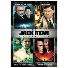 The Jack Ryan Collection (DVD, 2013, 4-Disc Set)