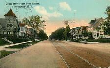 The View on Upper State Street From Linden, Schenectady NY 1912