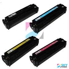 4/PK HP 131A Premium Color Toner Cartridge Set CF210A CF211A CF212A CF213A KCYM
