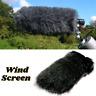 Universal Microphone Windscreen Artificial Fur Windshield Dead Cat Mic Wind Muff