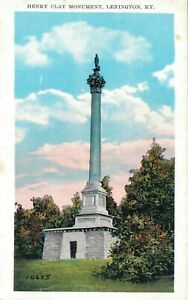 USA Kentucky Lexington Henry Clay Monument B26