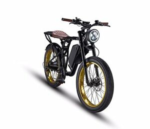 Electric Bike, The Rocket GTS Cruiser By Red Rocket Lifestyle.