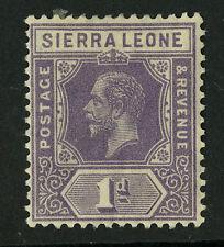 Sierra Leone  1924  Scott # 123a  Mint Hinged