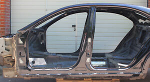 MERCEDES S KLASSE S500 L LANG W221 SCHWELLER SEITENSCHWELLER A B SÄULE LINKS