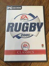 Rugby 2001 Classic Range, Very Good Windows 98, Windows 95 Video Games