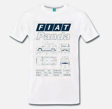 T-SHIRT MAGLIA FIAT PANDA AUTO MITO ANNI 80 - 1 - PANDA  S-M-L-XL