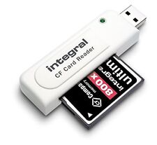 Integral Compact Flash USB Card Reader