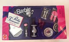 Barbie Doll Pretty Treasures Baking Accessories Picnic Dining Set #13761