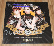 ORANGE CARAMEL Catallena 3RD SINGLE K-POP REAL SIGNED AUTOGRAPHED PROMO CD