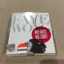 王菲 王靖雯 Faye wong 菲比寻常 演唱会 2cd 马来西亚 大马版 绝版 稀有