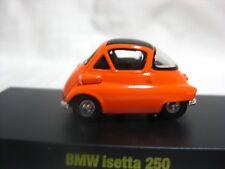 1:64 Kyosho BMW Isetta 250 Orange Diecast Model Car