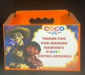 COCO Candy Boxes , Treat Boxes with labels