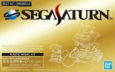 Bandai Spirits Best Hit Chronicle Sega Saturn Console 2/5 Scale Model Kit USA