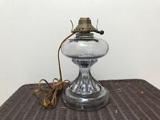 Antique Electrified EAPG Oil Lamp