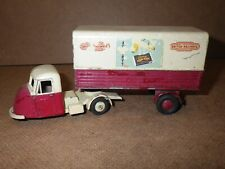 Vintage Budgie Toys Scammell Scarab Semi Trailer Lorry 3 Wheel Cab British Rail
