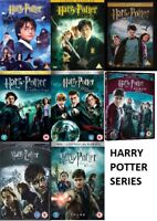 Harry Potter DVD Series - Assorted - Pick One or Bundle Up - Super Fast Delivery