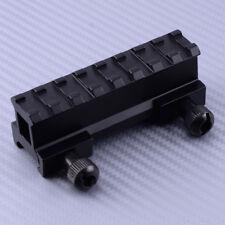 8Slot Legierung Höhen Adapter Montage für Weaver Picatinny Schiene Erhöhung 20mm