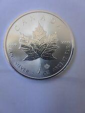 2018 CANADA SILVER MAPLE LEAF COIN GEM UNC