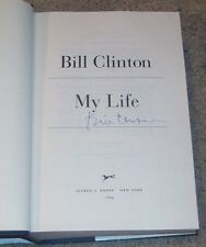 PRESIDENT BILL CLINTON SIGNED AUTOGRAPH MY LIFE FIRST EDITION HARDCOVER BOOK COA