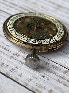 Vintage Mens Omega Automatic Watch Movement For Parts Read Description