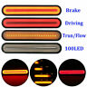 2x Flowing Reverse Brake Turn Signal Rear Tail Light  100 LED Car Truck Trailer