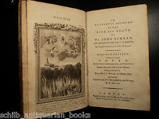 1782 Baptist John Bunyan Holy War Shaddai upon DIABOLUS Devil Demons PLATES