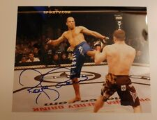 Royce Gracie signed autographed 8x10 photo UFC MMA